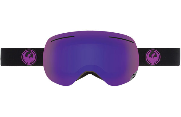 Dragon - X1 Jet / Purple Ion + Yellow Red Ion Goggles