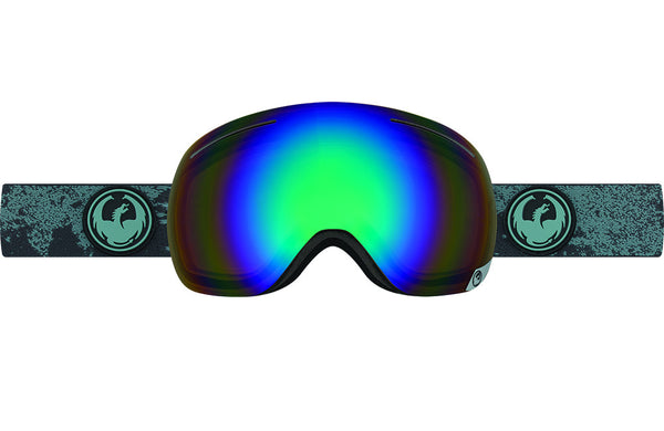 Dragon - X1 Mason Grey / Flash Green Polarized Goggles