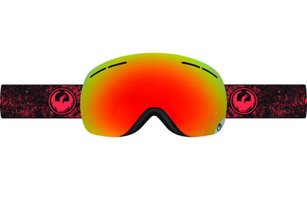 Dragon - X1s Energy Scarlet / Red Ion + Yellow Blue Ion Goggles