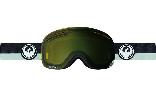 Dragon - X1s Flux Grey / Transitions Yellow Goggles