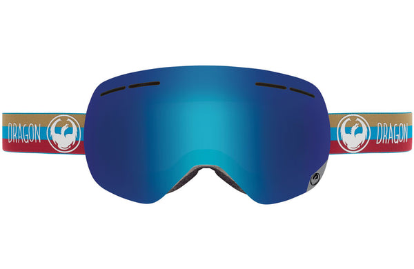 Dragon - X1s Layer / Blue Steel + Yellow Red Ion Goggles