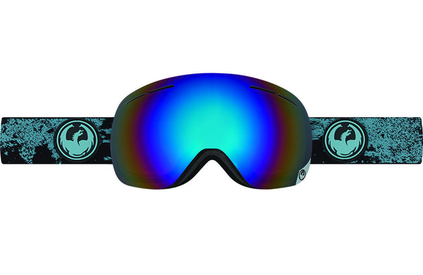 Dragon - X1s Mason Blue / Flash Blue Polarized Goggles