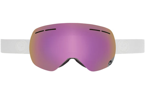 Dragon - X1s Whiteout / Pink Ion + Ionized Goggles