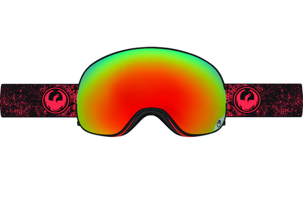 Dragon - X2 Energy Scarlet / Red Ion + Yellow Blue Ion Goggles