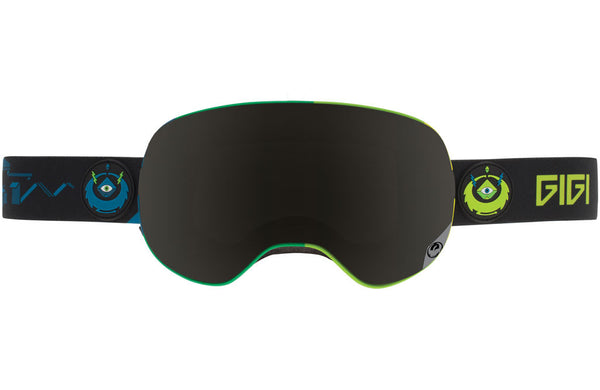 Dragon - X2 Gigi Signature / Dark Smoke + Yellow Red Ion Goggles
