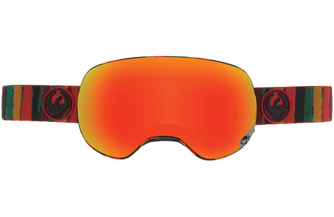 Dragon - X2 Jam / Red Ion + Yellow Blue Ion Goggles
