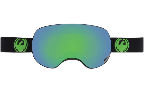 Dragon - X2 Jet / Green Ion + Yellow Blue Ion Goggles