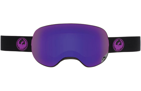 Dragon - X2 Jet / Purple Ion + Yellow Red Ion Goggles