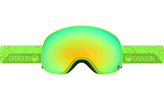 Dragon - X2 Stone Green / Smoke Gold Ion + Yellow Red Ion Goggles