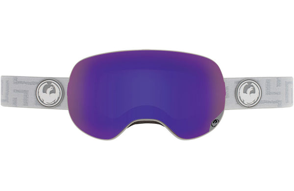Dragon - X2 West / Purple Ion + Yellow Red Ion Goggles