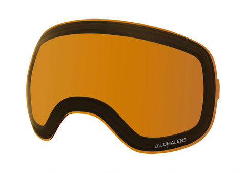 Dragon - X2 Lumalens Amber Snow Goggle Replacement Lens