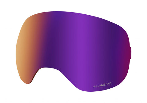 Dragon - X2 Lumalens Purple Ion Snow Goggle Replacement Lens