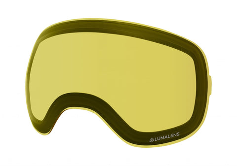 Dragon - DXs Yellow  Snow Goggle Replacement Lenses /  Lenses