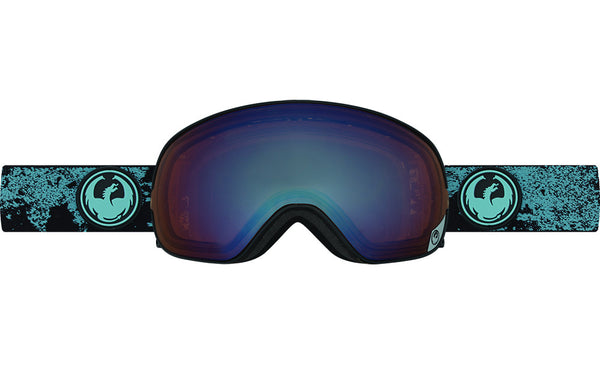Dragon - X2s Mason Blue / Flash Blue Polarized Goggles