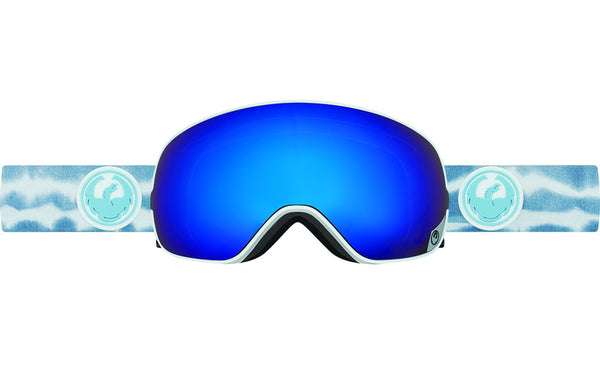 Dragon - X2s Onus Blue / Dark Smoke Blue + Yellow Blue Ion Goggles