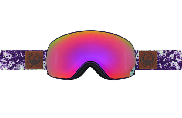 Dragon - X2s Patina Royal / Purple Ion + Yellow Red Ion Goggles