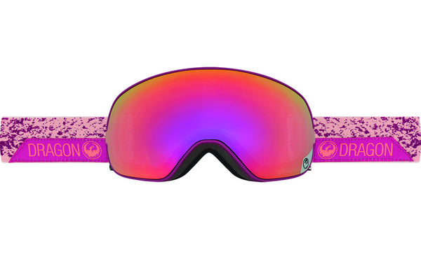 Dragon - X2s Stone Pink / Purple Ion + Pink Ion Goggles
