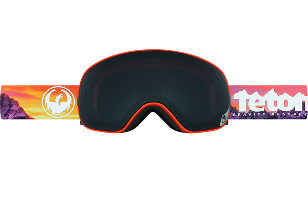 Dragon - X2s TGR Collab / Dark Smoke + Yellow Red Ion Goggles