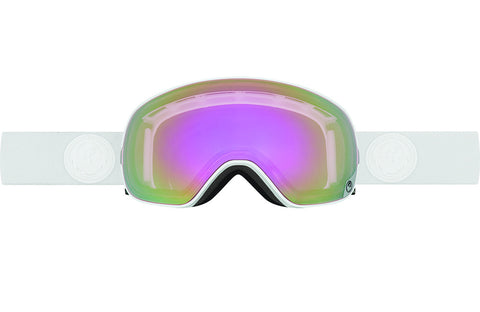 Dragon - X2s White Out / Pink Ion + Ionized Goggles
