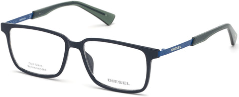 Diesel - DL5290 Shiny Blue Eyeglasses / Demo Lenses