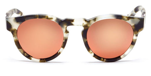 Westward Leaning - Voyager 15 Matte Pepper Tortoise Sunglasses / Rose Gold Mirror Lenses