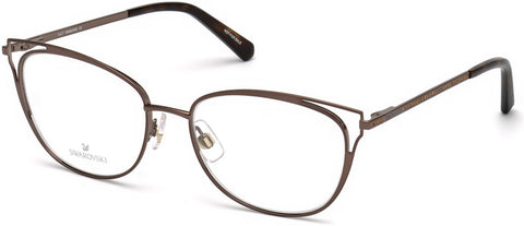 Swarovski - SK5265 52mm Shiny Black Eyeglasses / Demo Lenses