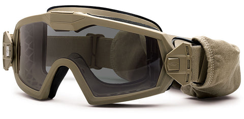 Smith - Outside The Wire Turbo Fan Tan 499 Snow Goggles / Gray Lenses