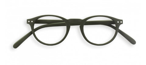 Izipizi - #A Kaki Green Reader Eyeglasses / +1.50 Lenses