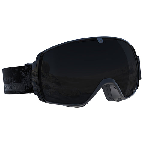 Salomon - XT One Black Snow Goggles / Solar Black Lenses