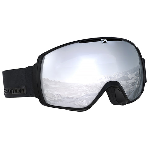 Salomon - XT One Black Neon Snow Goggles / Universal Super White Lenses