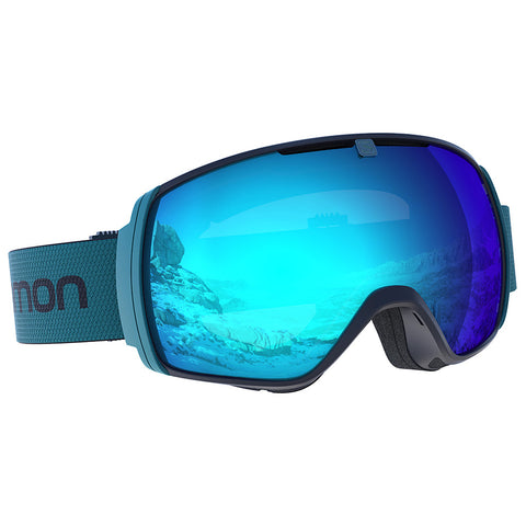 Salomon - XT One Hawaiian Surf Snow Goggles / Universal Mid Blue Lenses