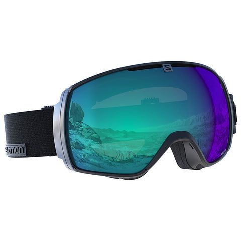 Salomon - XT One Photo Black Snow Goggles / Photo Blue Lenses