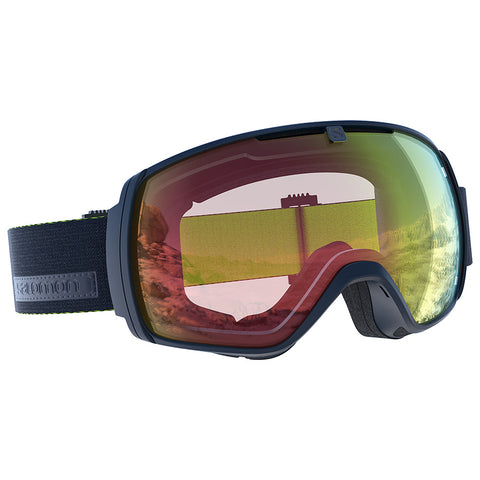 Salomon - XT One Photo Dress Blue Snow Goggles / Photo Red Lenses
