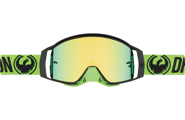 Dragon - NFX2 Brake Green MX Goggles / Smoke Green Ion + 10 pack Tear Offs + Lens Shiled Lenses