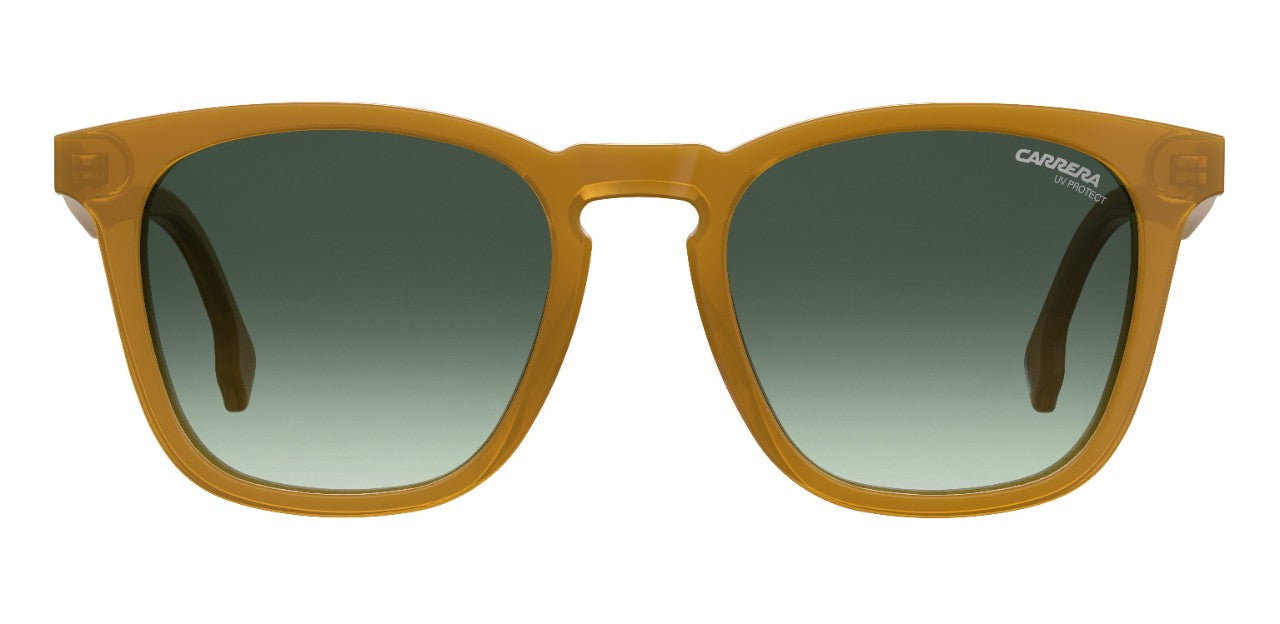 Carrera - 143 Yellow Sunglasses / Grey Green Lenses