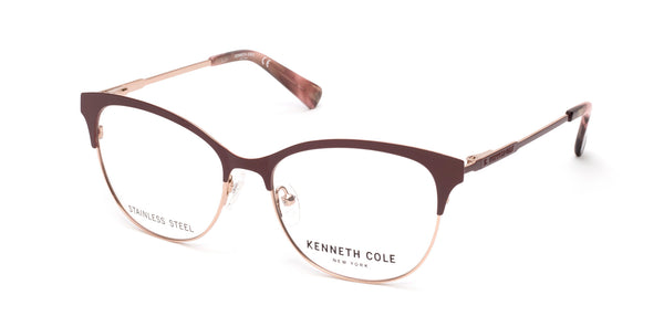 759624774b Kenneth Cole - KC0281 Matte Red Eyeglasses   Demo Lenses – New York ...