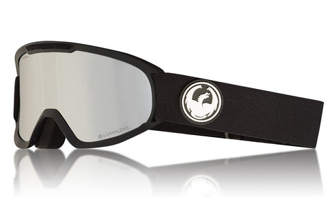 Dragon - Dx2 Black Snow Goggles / Lumalens Silver Ion Lenses