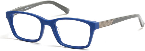 Harley-Davidson - HD0126T Matte Blue Eyeglasses / Demo Lenses
