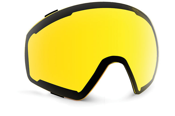 VonZipper - Capsule Switch Black Satin Snow Goggles / Wild Blackout+ Wildlife Yellow  Lenses