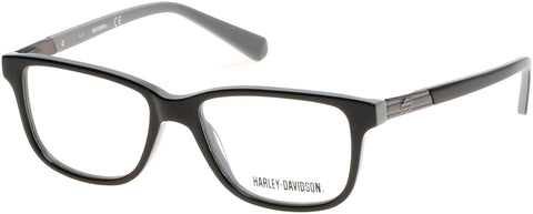 Harley-Davidson - HD0131T Black Eyeglasses / Demo Lenses