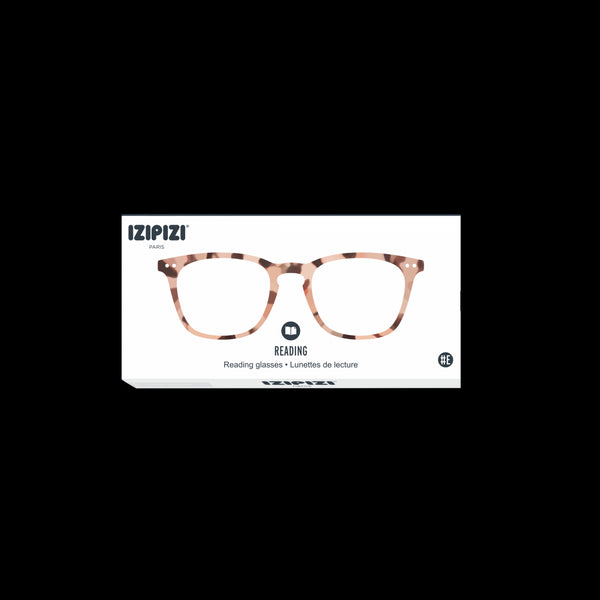 Izipizi - #E Light Tortoise Reader Eyeglasses / +1.50 Lenses