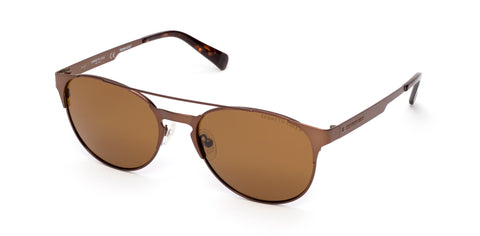 Kenneth Cole - KC7224 Matte Dark Brown Sunglasses / Brown Polarized Lenses
