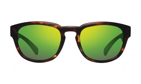 Revo - Slater Matte Crystal Sunglasses / Stealth Serilium Polarized Lenses