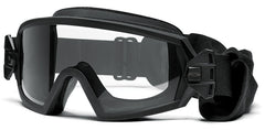Smith - Outside The Wire Asian Fit Black Snow Goggles / Clear + Gray Lenses