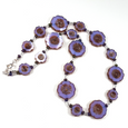 Lavender cut flower necklace