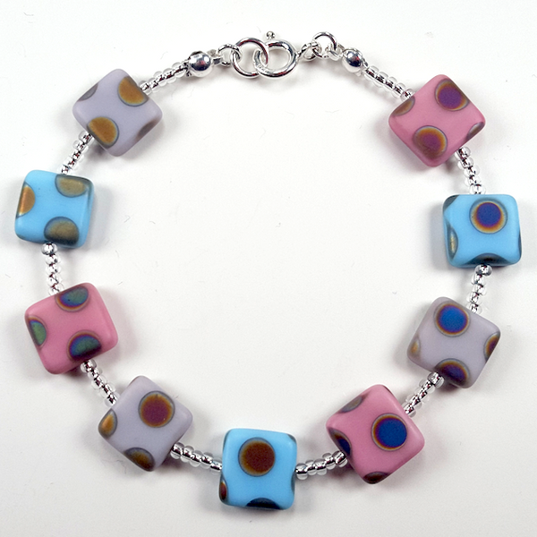 'Sugar candy' multi spot bracelet
