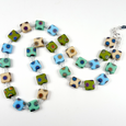 Cool shades multi spot necklace