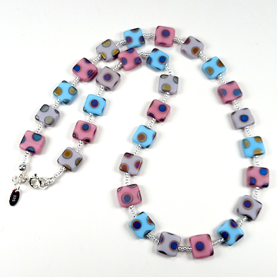 Sugar candy multi spot necklace