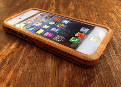 Butterfly - Coque Bois iPhone 5 /5s