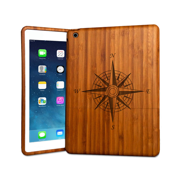 Compass - Coque bois iPad Air